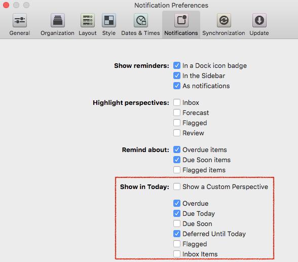 Does OmniFocus have Menubar - OmniFocus for Mac - The Omni