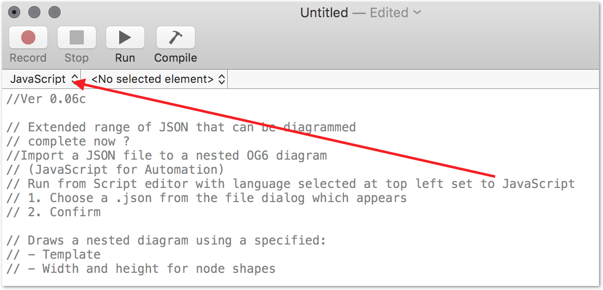 Omnigraffle support for mapping JSON relationships - OmniGraffle for