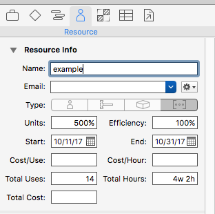 Cannot Set or Move Task Start Date to Past - OmniPlan - The