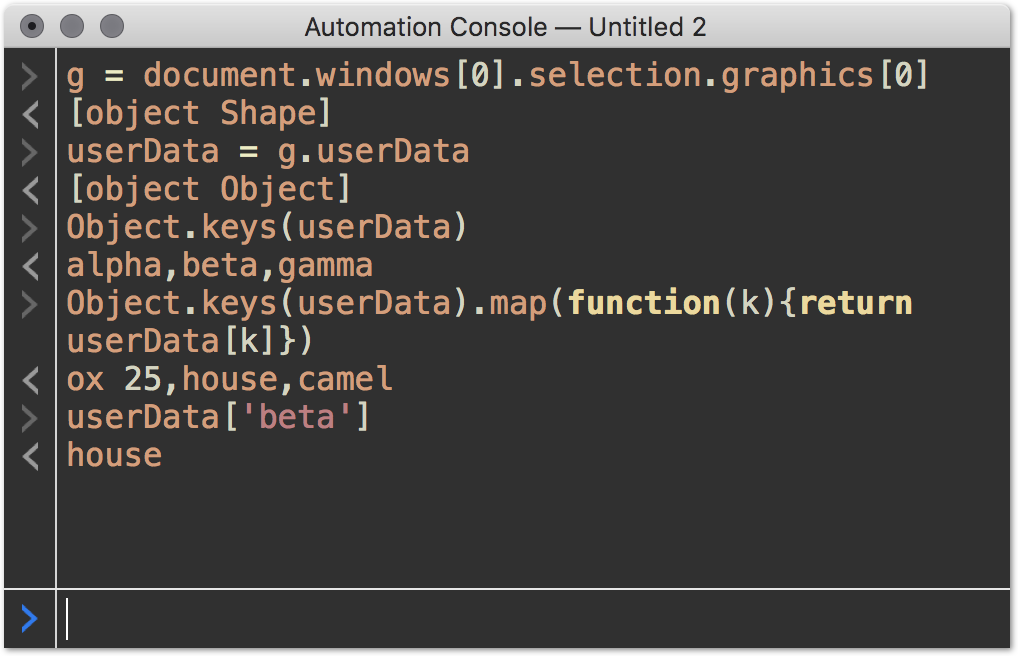 Testing OmniGraffle 7 3's built-in JavaScript automation