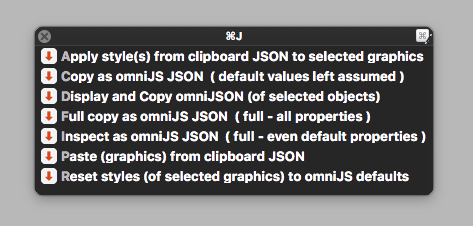 omniJS – Experimenting with Graphics ⇄ JSON ⇄ Styles
